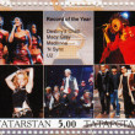 Artist Destiny 's Child, Macy Gray, Madonna, N Sync, U2 — Stockfoto