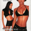 American R&B girl group Destiny's Child - Foto Stock