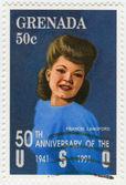 Julia Frances Langford American singer — Stock Photo