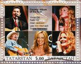 Vince Gill, Faight Hill , Alian Jackson, Lee Ann Womack, Trisha Yearwood — Stock Photo