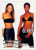 American R&B girl group Destiny's Child — Stock Photo
