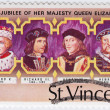UK Kings - Edward V (L) , Richard III , Henry VII , Henry VIII — Stock Photo