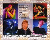 Artist Fiona Apple, Beck, The Cure, Paul McCartney, Radiohead — Stock Photo