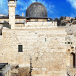 Al Aqsa Mosque in Jerusalem, Israel — Stock Photo #4823732