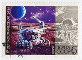月亮月亮车机-1 — 图库照片