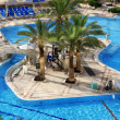 Постер, плакат: Detail of Swimming pool in Spa resort at Dead sea Israel