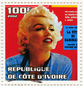 Marilyn Monroe — 图库照片