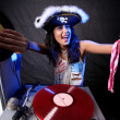 Cool dj in azione — Foto Stock #4954868