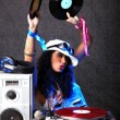 Cool DJ in action — Stockfoto #5010829