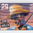 Bob Wills is an american western swing band leader — Stock Photo