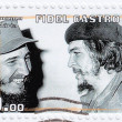 Fidel Castro (L) and Che Guevara — Stock Photo #5149264