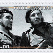 Fidel Castro (R) and Che Guevara - Stock Photo