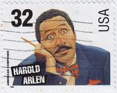 Harold arlen é um compositor norte-americano — Foto Stock