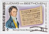 Ludwig van Beethoven — Stock Photo