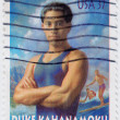 Duke Kahanamoku was a Hawaiian swimmer - Stock Photo