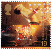 Freddie Mercury leader the Queen — Stok fotoğraf