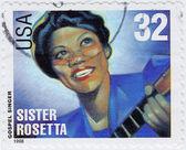 Sister Rosetta — Stock Photo