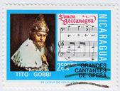 Tito Gobbi is an great Italian tenor — Stock Photo