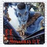 Avatar film poster — Stock Photo