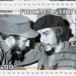 Fidel Castro and Che Guevara — Stock Photo