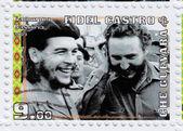 Fidel Castro and Che Guevara — Stock Photo