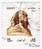 Egypt - Great Sphinx of Giza — Stock Photo