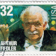 Stock Photo: USclassical Composer Arthur Fiedler