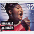 American gospel singer Mahalia Jackson — Stock Photo