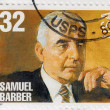 Stock Photo: Americclassical Composer Samuel Barber
