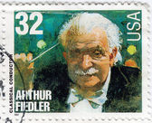 USA classical Composer Arthur Fiedler — Foto Stock
