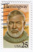 Ernest Hemingway — Stock Photo
