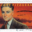 F. Scott Fitzgerald American author — Stock Photo