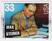Max Steiner American hollywood composer — Stock Photo