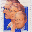 Stock Photo: Actors John, Ethel and Lionel Barrymore