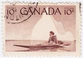 Canada montre autochtones — Photo