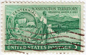 USA centennial Washington Territory — Stock Photo