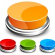 Set of abstract glossy button — Stock Vector #5306358
