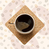 šálek kávy. — Stock fotografie