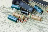 Radio components — Stock Photo