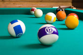 Pool balls. — Stock Photo