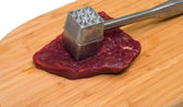 Cooking meat. — Stock Photo