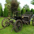 Old horse-drawn carriage - Stock Photo