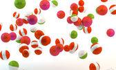 Multi-colored spheres — Stock Photo