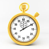 Gold stop watch — Stock Photo