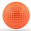 Orange sphere - Stock Photo