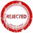 Rejected grunge stamp — Stock Vector
