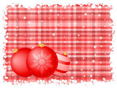 Red stripe christmas background — Stock Vector