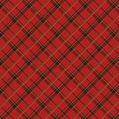 Scottish fabric 2 — Stock Vector