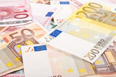 Euros background — Stock Photo