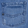Jeans poket — Stock Photo